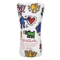 [D] Мастурбатор Keith Haring Soft Tube Cup (Tenga) /E24586