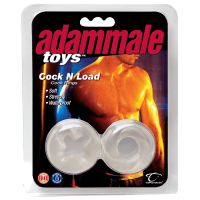 Эрекционные  кольца Adam Male Toys™ Cock N Load Cock Rings