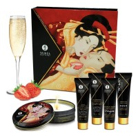 [D] Набор мини-продуктов Geisha Secrets Sparkling Strawberry Wine - Shunga
